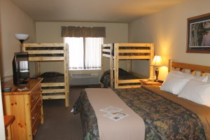 King Bunk Bed Junior Suite Deluxe Hotel Accommodations