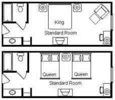 Standard King Layout